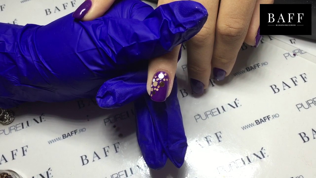 Aplicare Confetti Si Sclipici Holografic Pe Oja Semipermanenta