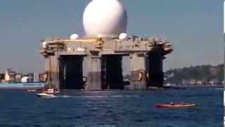 u s a gigantesca piattaforma h a a r p americana in sud corea sea based haarp sbx