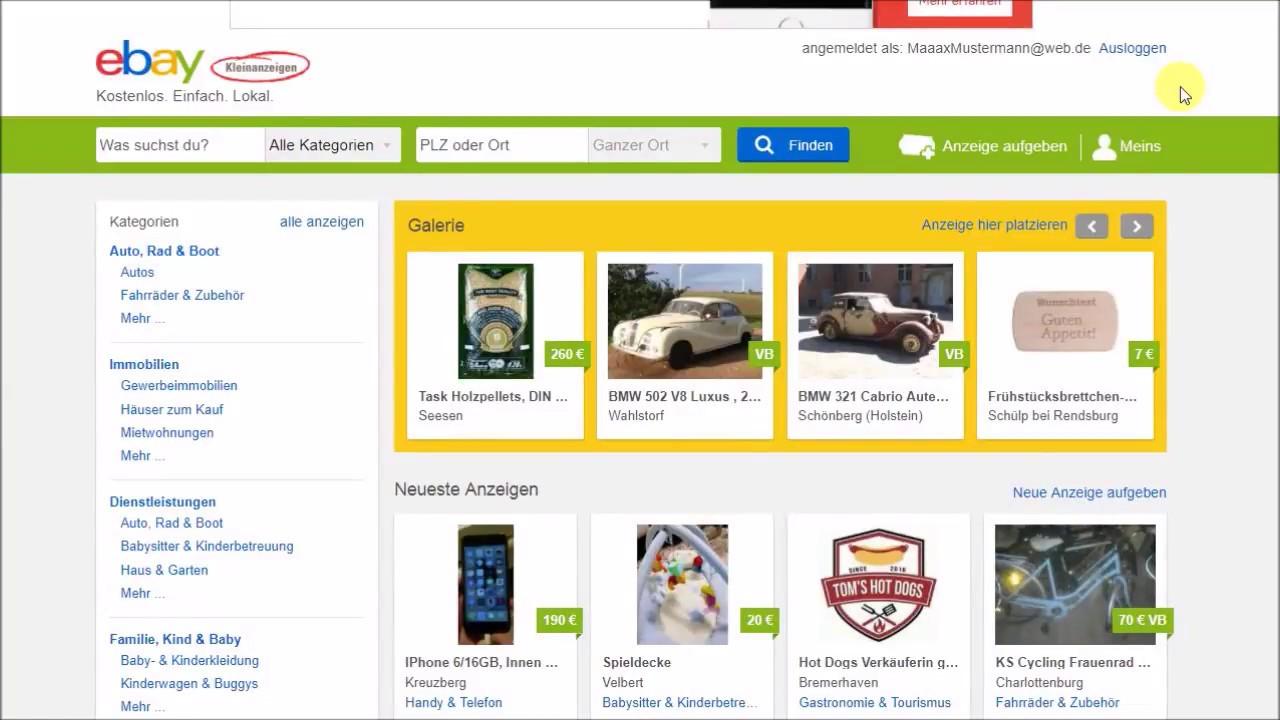 Ebay Kleinanzeigen Wie Verkaufen