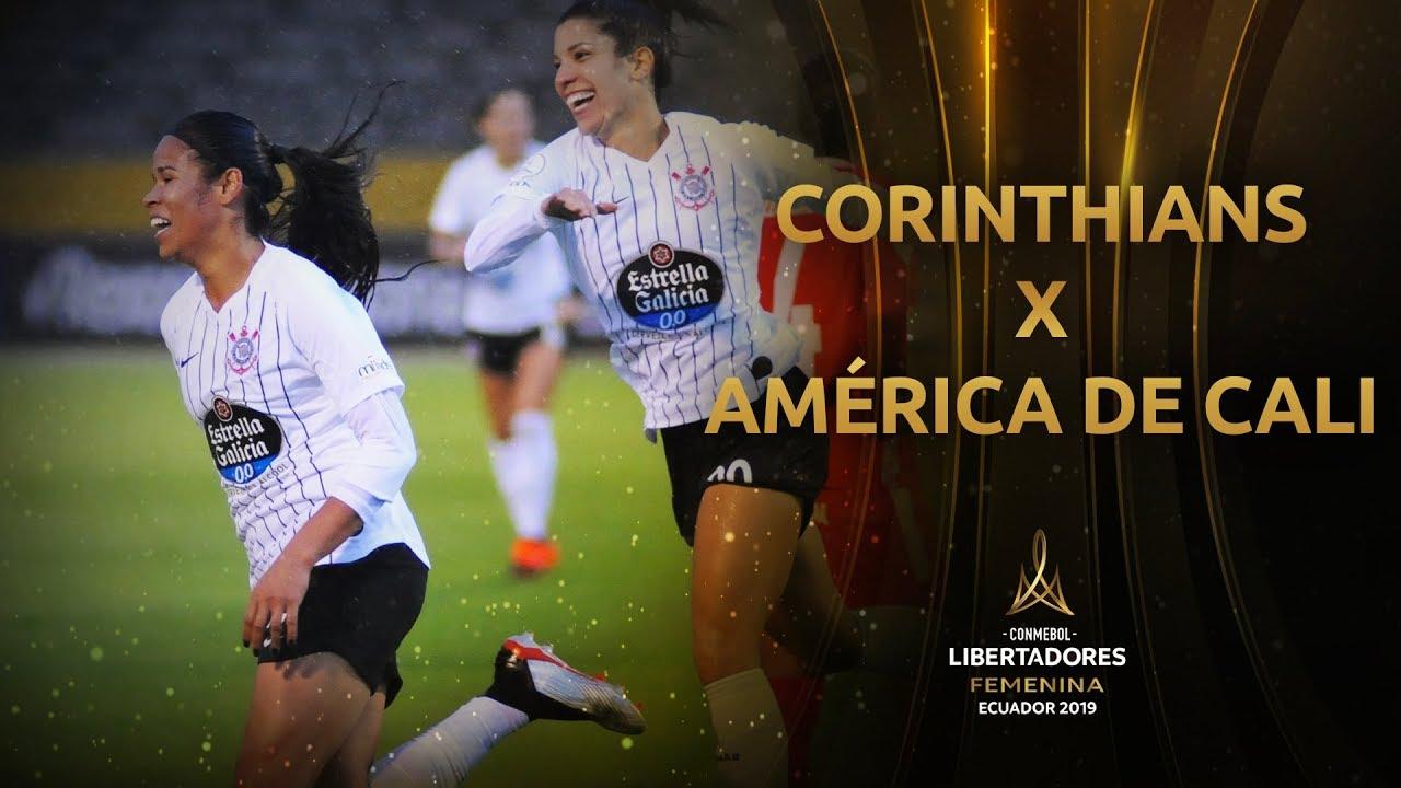 Melhores Momentos Corinthians 3 1 América De Cali Libertadores Feminina 2019
