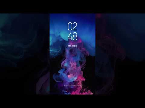Samsung Themes Animated Wallpaper Blue Spirit