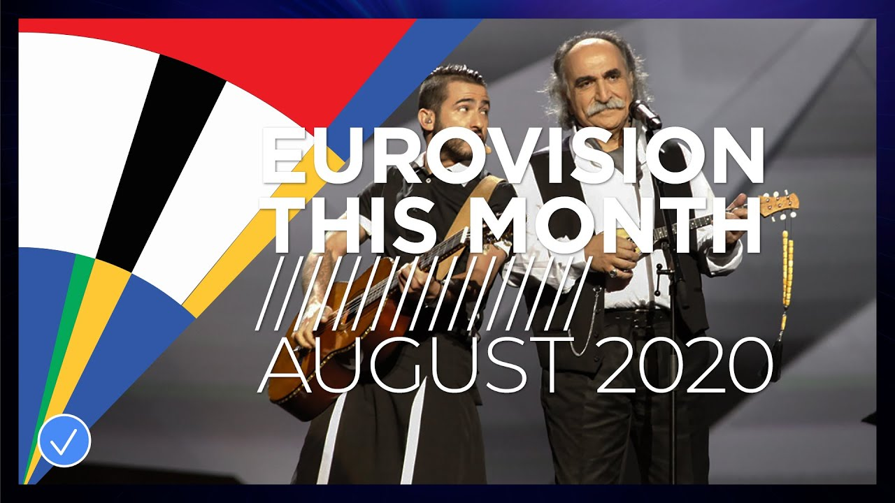 Eurovision This Month: August 2020