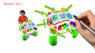 Leapfrog Learn & Groove Musical Table Quick Review
