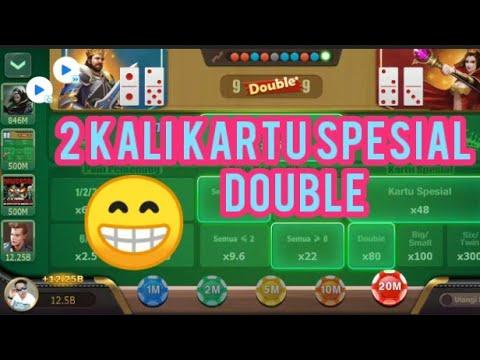 Ceme Kartu Spesial Double 2 Kali Domino Qq Youtube