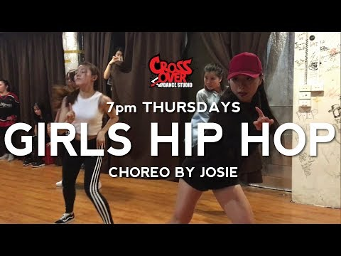 Josie's Girls Hip Hop Class @ Crossover Dance Studio