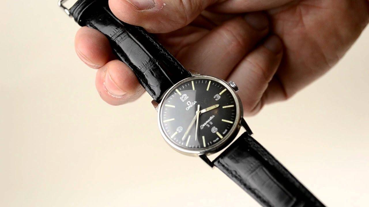 mens vintage omega seamaster 30 watch mov mens vintage omega seamaster 30 watch mov
