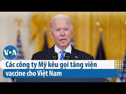 Các công ty Mỹ kêu gọi tăng viện vaccine cho Việt Nam | VOA