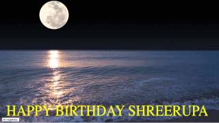 Shreerupa  Moon La Luna - Happy Birthday