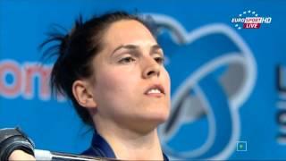 Тяжелая атлетика. Чемпионат Европы 2015 г. Женщины до 69 кг.