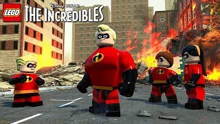 LEGO The Incredibles - Gameplay Trailer @ 1080p (60ᶠᵖˢ) HD ✔