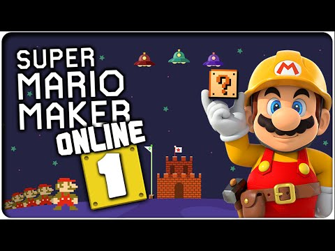 SUPER MARIO MAKER ONLINE Part 1: Domtendos eigene Level