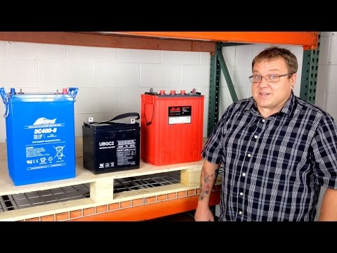 Lead Acid Battery Basics
