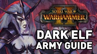 Total War: Warhammer 2 || Dark Elf Army Guide