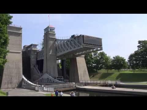 Peterborough Lift Lock - The World's Highest!
