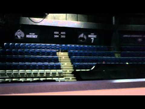 Tour of Bell Centre, Home Arena of Les Canadiens de Montréal