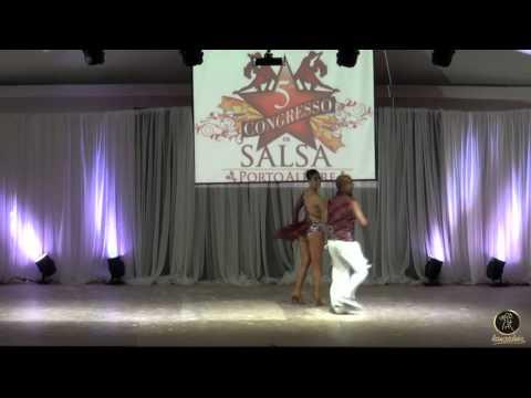 POA SALSA CONGRESS 2015 - FERNANDA GIUZIO E DOUGLAS MOHAMARI - CONEXION CARIBE (Salsa)
