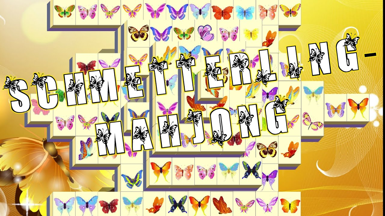 Mahjong Schmetterling