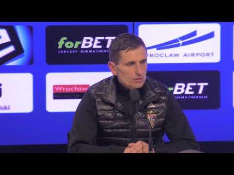 Śląsk Wrocław 0-1 Górnik Zabrze. Konferencja prasowa (13-04-2019)