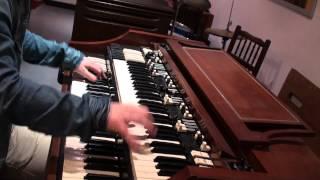 Hammond A100 (B3) funk blues soul improv