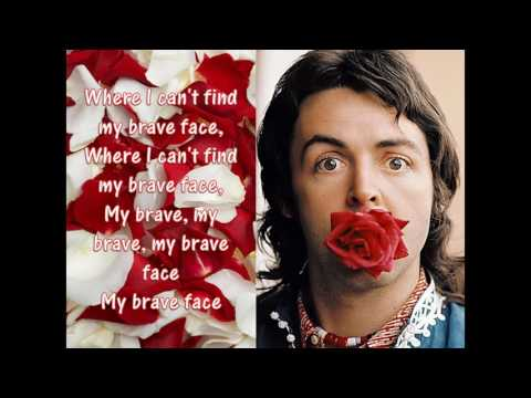 Paul McCartney - My Brave Face Lyrics