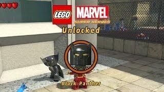Lego Marvel-Unlock Black Panther-3rd Black Panther Mission