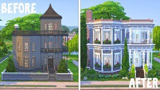 Goth's Family Home \ Renovating EA || The Sims 4: Speed Build