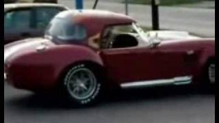 Woman Driver Crashes A Shelby Cobra
