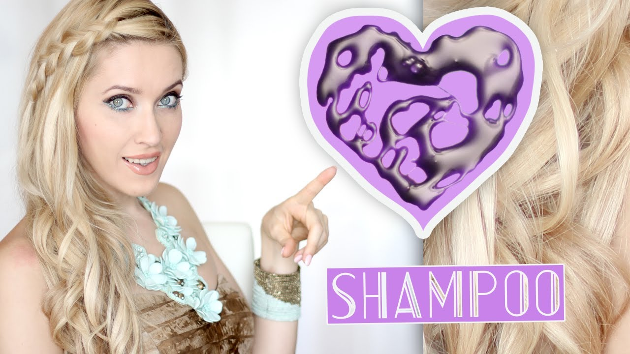Purple Shampoo For Gorgeous Blonde Or Bleached Hair Youtube