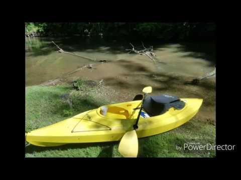 Kayaking Antietam Creek