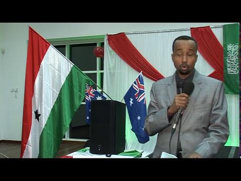 Barnaamij Gaar Ah Munaasabada Somaliland & Jaaliyadda Somaliland ee Perth Australia  By Baafo 18 05