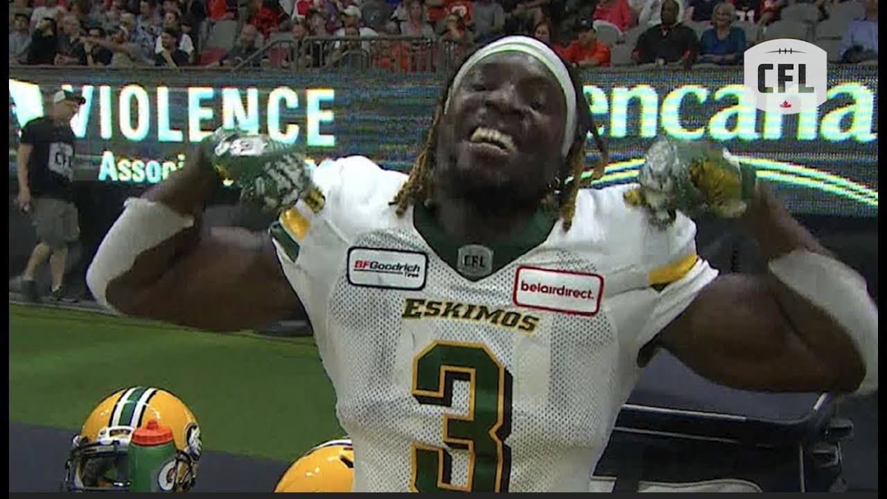 Spectacular catch and run for the touchdown  | CFL 2019 - week 5