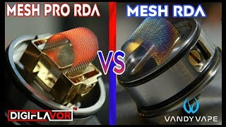 Epic Mesh Battle Mesh Rda Vs Mesh Pro Rda Shots Fired Youtube