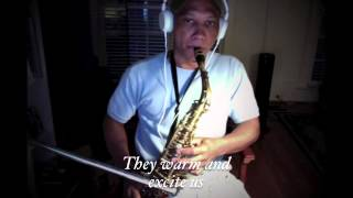 Barbra Streisand - Evergreen (with lyrics) -  (Saxophone cover)