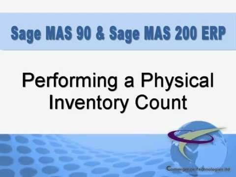 performing a physical inventory count youtube