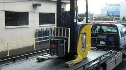 Towing Forklift Transport
