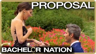 Arie Proposes To Becca Kufrin | The Bachelor US