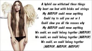 Baixar Lady Gaga - ARTPOP Karaoke / Instrumental with lyrics on screen