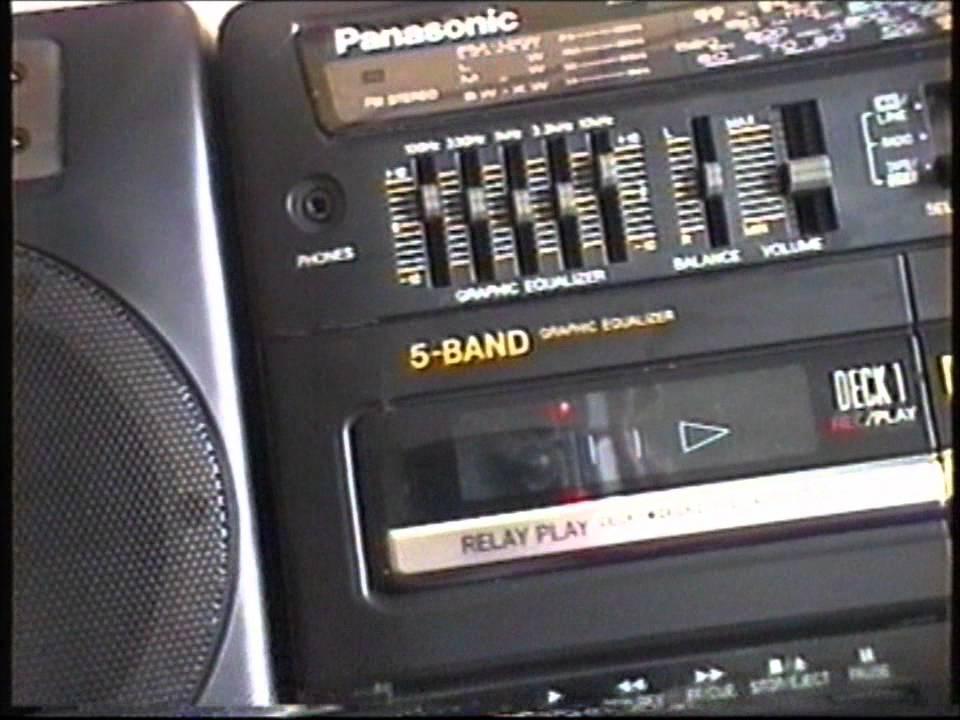 1990s Panasonic RX-CT810