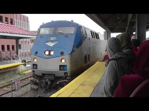 Haverhill Station, waiting for the Amtrak Downeaster