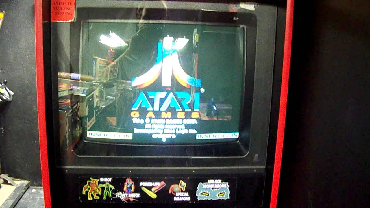 Area 51, area 51:site4, maximum force TRIO custom arcade game ...