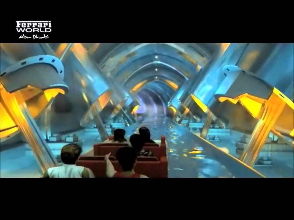 Ferrari World, Abu Dhabi - Destinology - YouTube