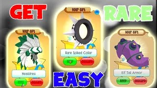HOW TO GET A HEADDRESS IN ANIMAL JAM!