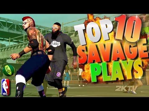 TOP 10 SAVAGE PARK Plays Of The Week! NBA 2K17 Posterizers & Ankle Breakers