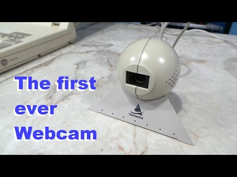 The 1st Ever Webcam - Connectix Quickcam