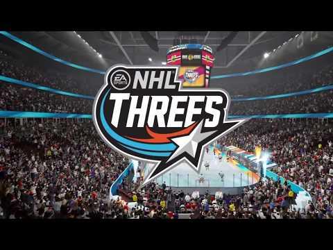 NHL 18 Threes Gameplay Los Angeles Kings vs. Chicago Blackhawks