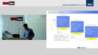"""RuhrSec 2018: """"Revisiting the X.509 Certification Path Validation"""", Dr. Falko Strenzke"""