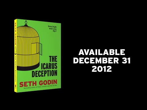 Icarus Deception by Seth Godin Official Book Trailer by Simplifilm