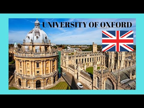 The beautiful and historic University of Oxford, OXFORD (England)