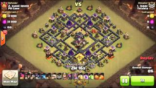 Clash of Clans - Episodio 2 y parte final de GUERRA Trixiria vs PH Care!