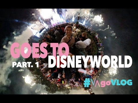 GOES TO DISNEYWORLD (Part. 1) | #VAgoVLOG eps. 15